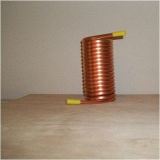 OD 10 Copper Coil to 2 ID   Moonshine Still   condensing coil