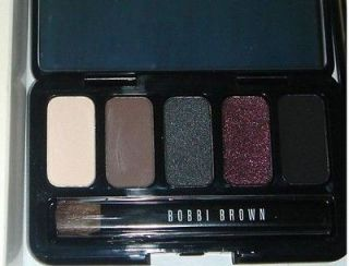 BOBBI BROWN BLACK BERRY EYE PALETTE WITH MINI MASCARA IN BLACK
