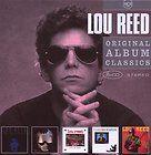 Lou Reed ORIGINAL ALBUM CLASSICS NO. 2 Box Set 56 TRACK New Sealed 5