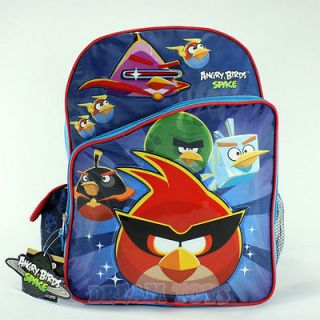 Rovio Angry Birds Space Super Heroes 16 Large Backpack   Book Bag