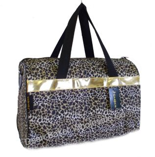 leopard duffle bag in Clothing,