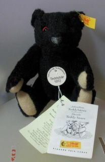 STEIFF COLLECTION MILLENIUM TEDDY BEAR  YELLOW EAR TAG 029134 NOT