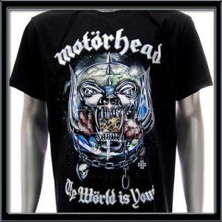 sz xl motorhead t shirt vtg retro rock metal biker punk