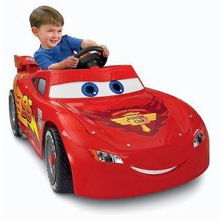 Newly listed NIB Disney/Pixar Cars 2 Lightning McQueen Ride On Car by
