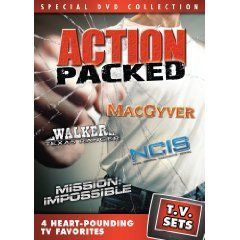 Sets   Action Packed   MacGyver/Walker, Texas Ranger/NCIS/Mission