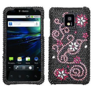 For LG P999(G2X) Case Cover Bling Rhinestones Delight Diamond *