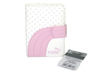 newly listed puma sport fashion card holder wallet pink from
