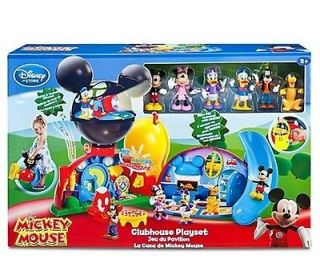 Deluxe Mickey Mouse Clubhouse Play set with 6 Classic Disney Figures