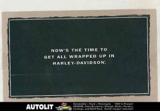 Davidson Motorcycle Motor Clothes Leather Jackets Mailer Brochure