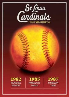 St. Louis Cardinals Vintage World Series Films 1980s DVD, 2005