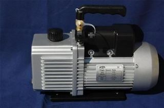 Stage Rotary Vane High/Deep Vacuum Pump 6CFM HVAC Tool+Isolation