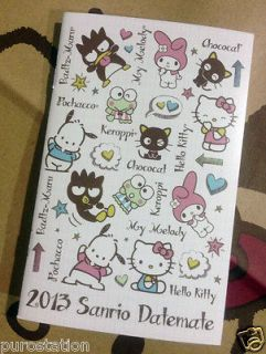 Sanrio Hello Kitty Mini Pocket Monthly Calendar *Datemate*Date​book