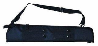 MOLLE Tactical 29 Padded Shotgun Rifle Bag Scabbard Case BLACK