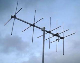 metre 8 element crossed yagi antenna 144 146mhz  192 35