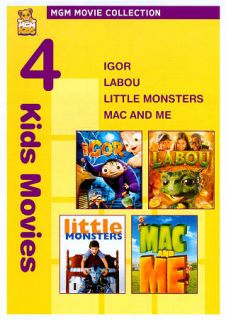 Igor Labou Little Monsters Mac and Me DVD, 2010, 3 Disc Set