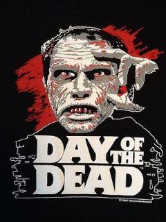 Horror Gore RottenCotton Romero Day of the Dead T Shirt NEW