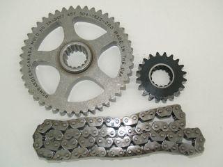05 Ski Doo MXZ 600 800 HO REV SDI drive chain & case gears