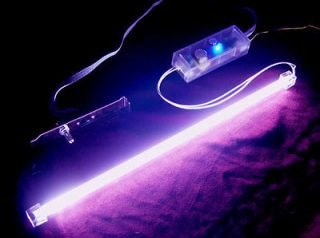 Logisys 15 UV BLACK Cold Cathode Light Sound Activated KIT MOD CASE