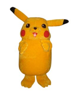 pokemon pikachu mascot costume adult character costume from peru time