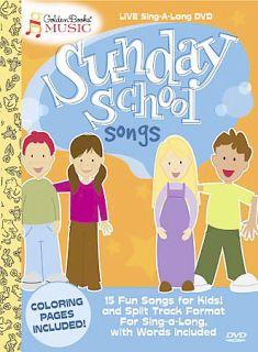 Golden Books Music   Sunday School Songs DVD, 2004