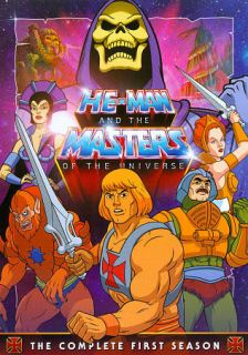 He Man and the Masters of the Universe The Complete First Season DVD