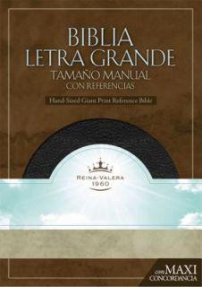 RVR 1960 Biblia Letra Granda Tamano Manual by B H Espanol Editorial