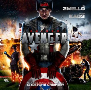eminem avenger blends remixes official mixtape album cd time left