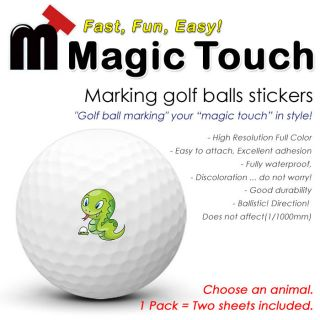 Sporting Goods  Golf  Accessories  Stickers & Decals