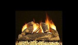 vented propane gas logs in Decorative Logs, Stone & Glass