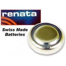 RENATA WATCH CELL BATTERY SWISS SILVER OXIDE FREE 1ST CLASS 377 371