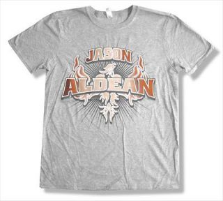 JASON ALDEAN   2011 EVENT LUBBOCK TX GREY T SHIRT   NEW ADULT 2XL XXL
