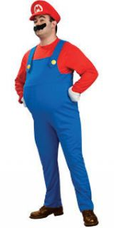 mario super mario bros nintendo adult men s costume more