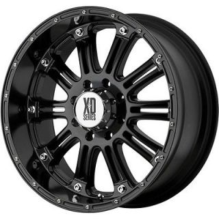 18 XD HOSS 6X135 NAVIGATOR EXPEDITION F150XL BLACK WHEELS RIMS FREE