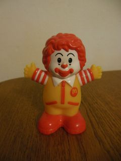 2005 mcdonald s little people ronald mcdonald toy clown returns