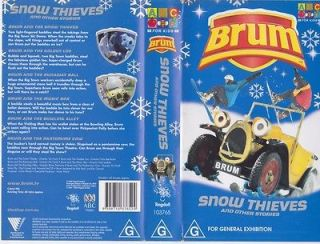 brum snow thieves vhs video pal a rare find from