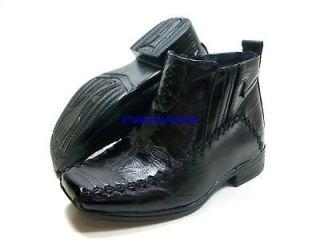 infant boys italian style dress boots cross design nib sizes