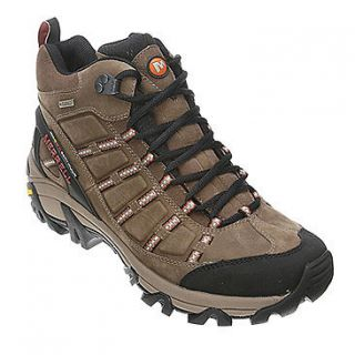 merrell outland mid waterproof hiking boots mens 14m brown