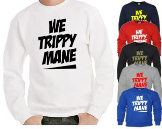 WE TRIPPY MANE SWEATER TAYLOR GANG SWEATSHIRT OFWGKTA JUMPER DOPE WIZ