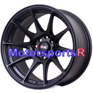 XXR 527 Black Concave Rims Wheels 4x114.3 89 90 91 94 Nissan 240sx S13