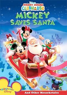 Mickey Mouse Clubhouse   Mickey Saves Santa and Other Mouseketales DVD