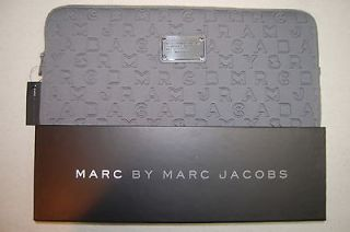 New w/Tags Marc By Marc Jacobs Dreamy Logo Neoprene 15 Laptop Case