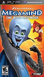 MegaMind The Blue Defender PlayStation Portable, 2010