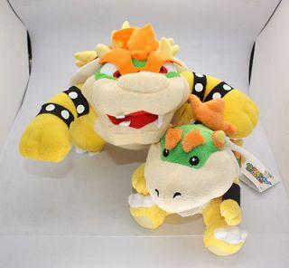 Rare SNES Super Mario Kart King Koopa Plush Doll MarioKart 64 Nintendo