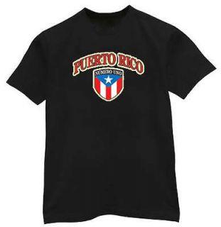 puerto rico rican flag shirt numero uno t shirt