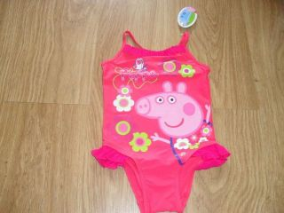 bnwt lovely peppa pig swimming costume more options size time