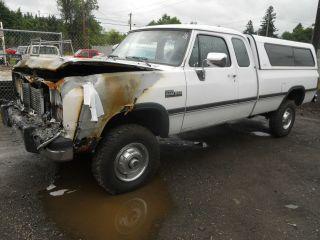 93 dodge ram 250 pickup fuel filler neck diesel fuel
