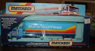 VINTAGE MATCHBOX K 31 SUPERKINGS 1:50 PETERBILT REFRIGERATION TRUCK