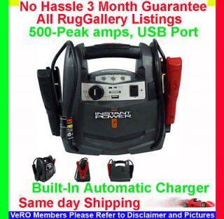 SCHUMACHER 500 AMP CAR BATTERY JUMP STARTER BOOSTER USB CHARGER 12 V