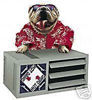 modine hd125 125k hot dawg low profile unit heater time