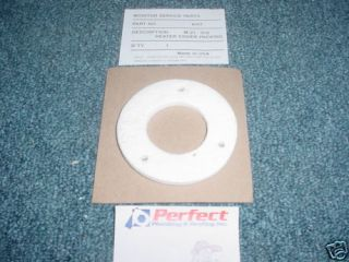 monitor heater parts 6117 heater cover packing